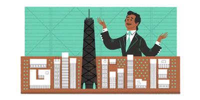 Google Doodle celebrates Fazlur Rahman Khan, Sears Tower skyscraper engineer