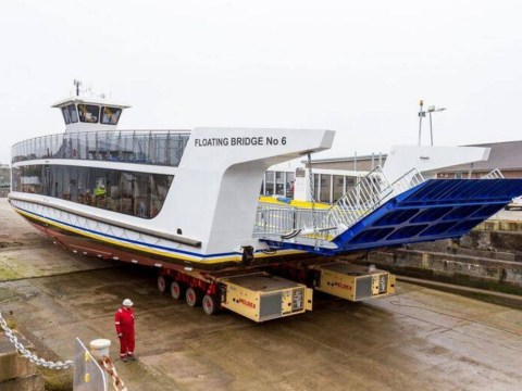 The public was asked to name a new ferry and the inevitable happened