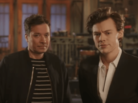 Jimmy Fallon and Harry Styles try to out do each other in hilarious SNL promo clip