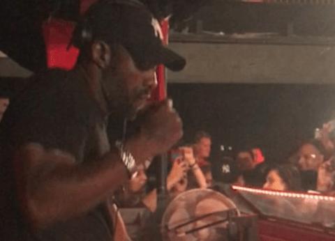 Watch Idris Elba bust some moves behind the decks at London nightclub proving he's a bonafide DJ