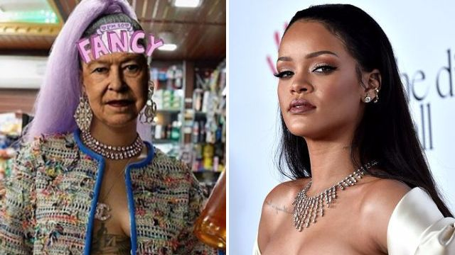 Rihanna bizarrely pokes fun at the Queen on Instagram – and is swiftly faced with a furious backlash from fans