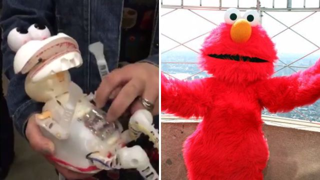 El-no: This furless Tickle Me Elmo will crush all of your childhood dreams