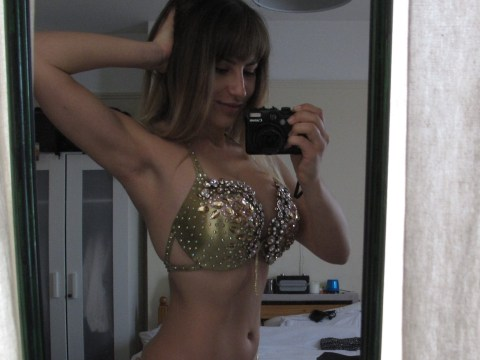 My journey to Miss Bikini Body: Feeling like a stage Queen in my gold bikini