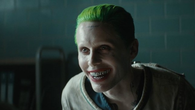 Jared Leto plays The Joker in 2016 film, Suicide Squad
