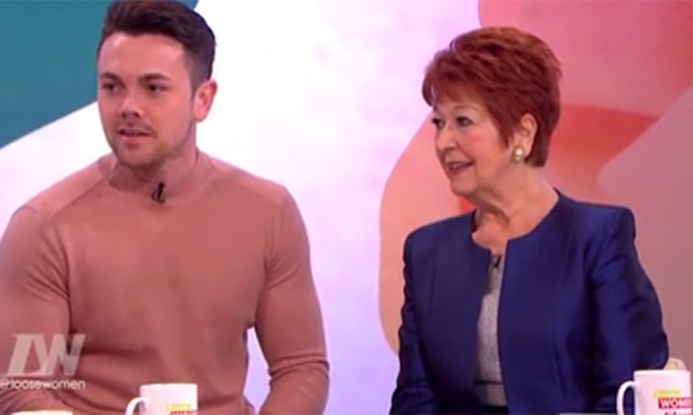 Coleen Nolan calls Ray Quinn 'well fit' as he shows off his biceps on Loose Women