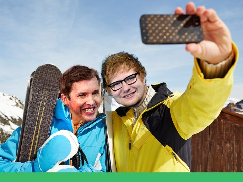 James Blunt taught Ed Sheeran how to ski in return for Ed teaching him how to write songs