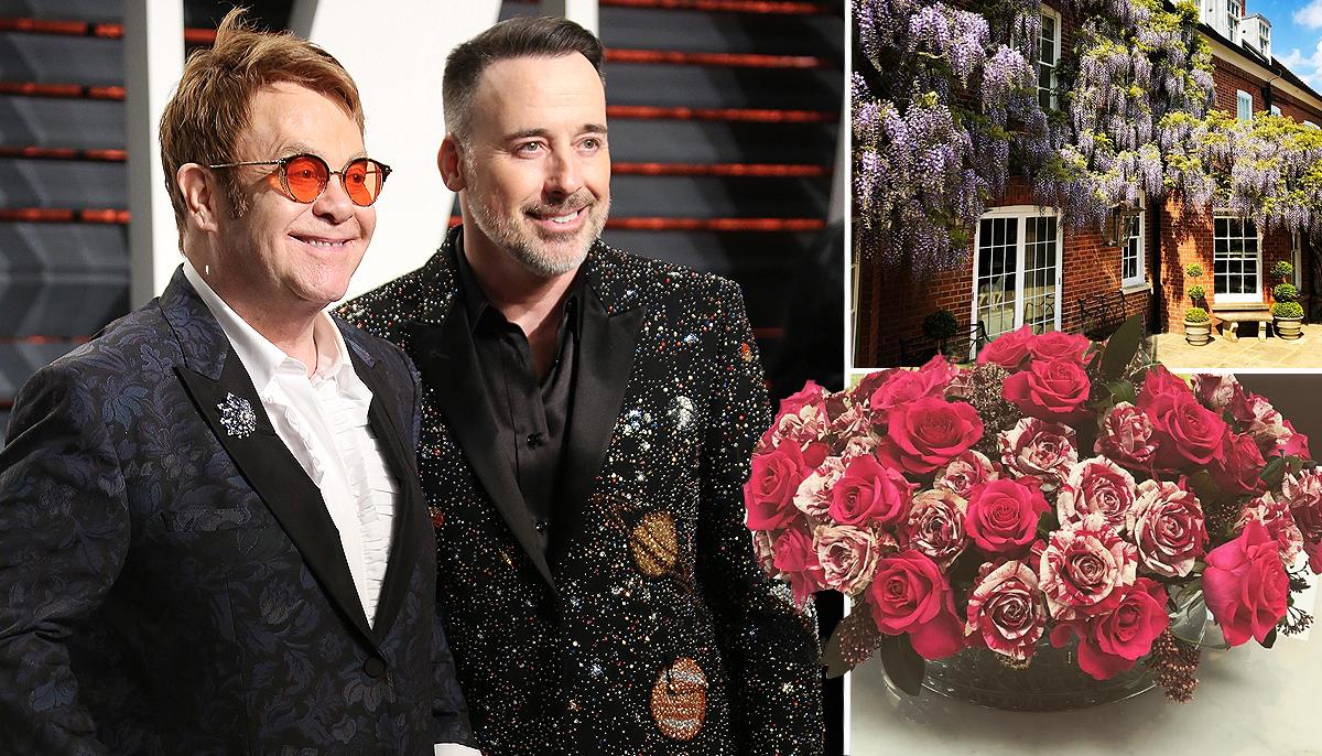 Elton John's husband David Furnish shares insight into idyllic life at home as singer recovers from 'near fatal' illness