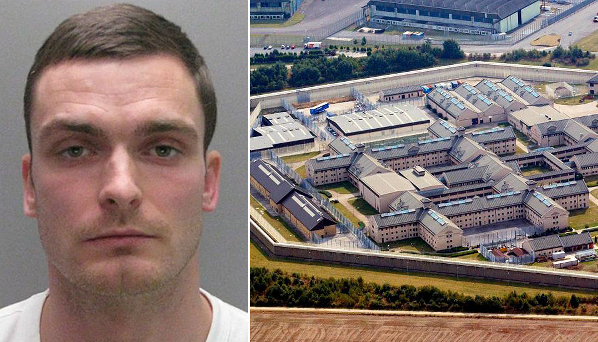 Adam Johnson moved to secure unit over fears he may be attacked following sick prison video