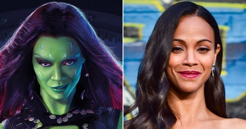 Guardians Of The Galaxy star reveal painstaking makeup