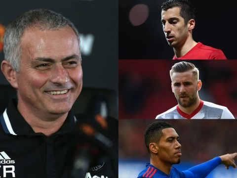 Jose Mourinho doesn't care if his public dressing downs upset his Man Utd players