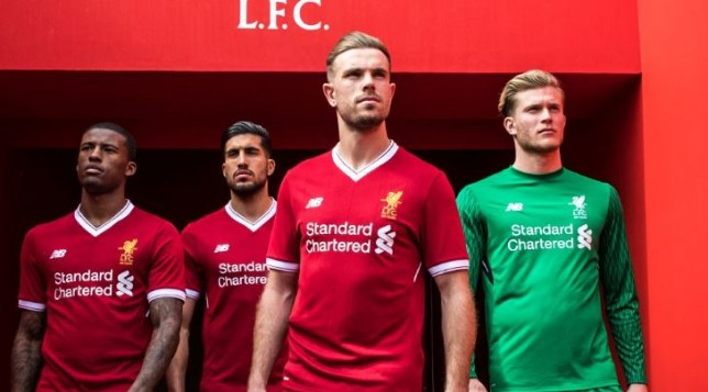 d4234d6fe6d Liverpool news: New 2017/18 home kit unveiled but fans unhappy with ...