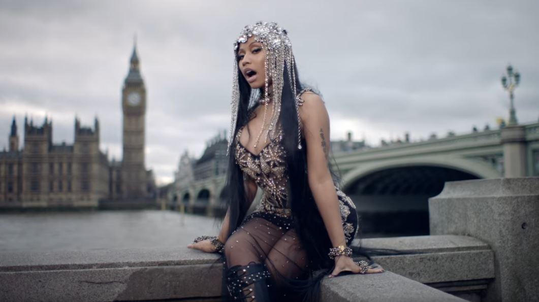 Nicki Minaj slammed over Westminster Bridge music video for No Frauds – and she mistakenly calls it London Bridge