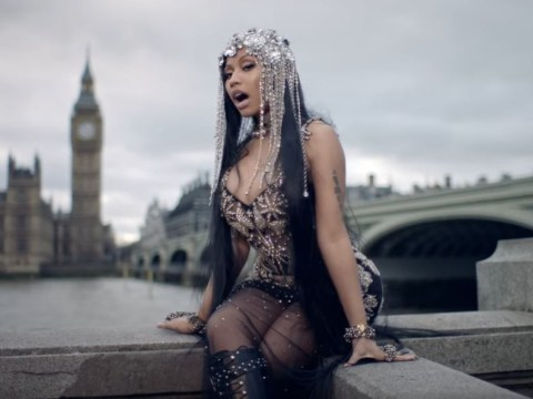 Nicki Minaj slammed over Westminster Bridge music video for No Frauds – and she mistakenly calls it London Bridge