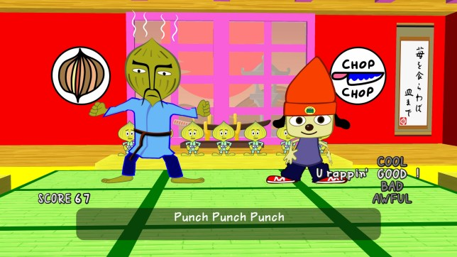PaRappa The Rapper Remastered (PS4) - it's all in the mind