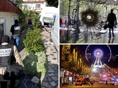 Possible 'accomplice' of Champs-Elysees gunman turns himself in as terror investigation continues