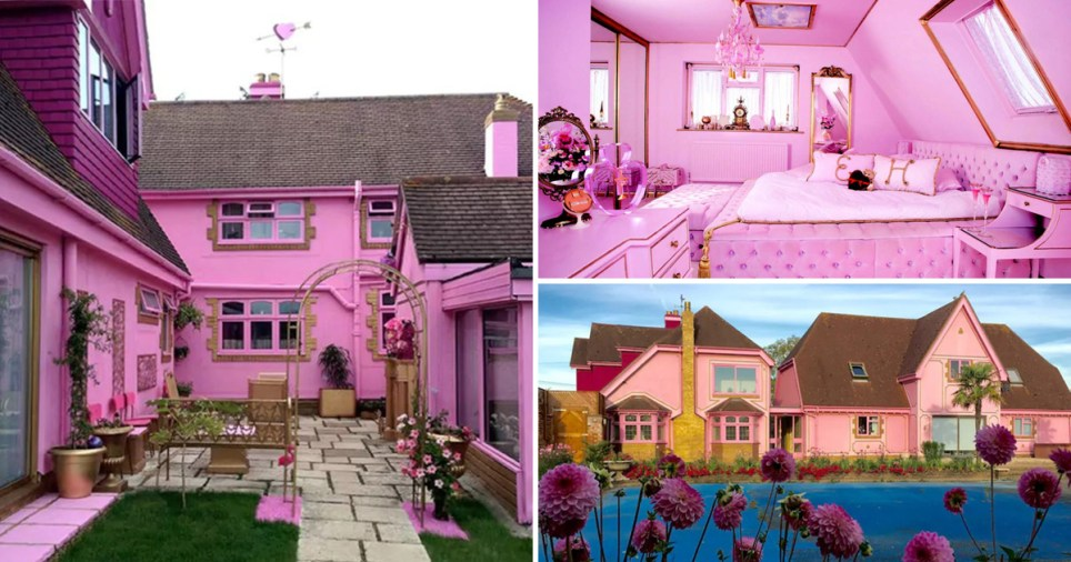 The pinkest house on Airbnb