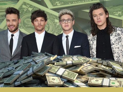 One Direction spent a cool £24.3million during just ONE year on the road