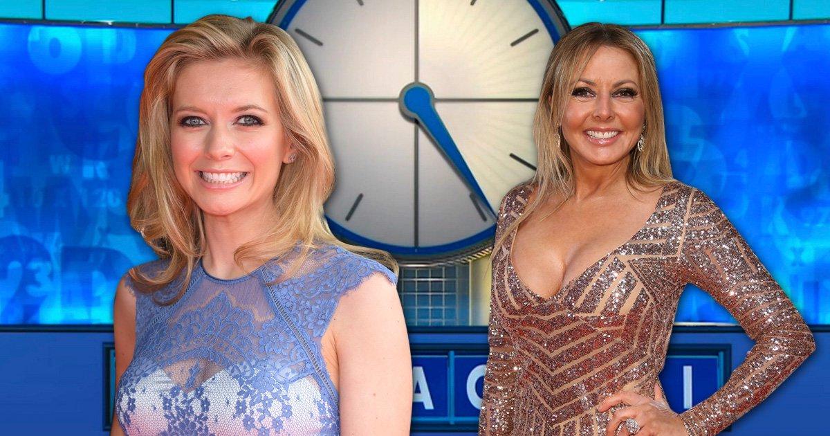 'It's a conundrum': Countdown's Rachel Riley reveals she's never met Carol Vorderman