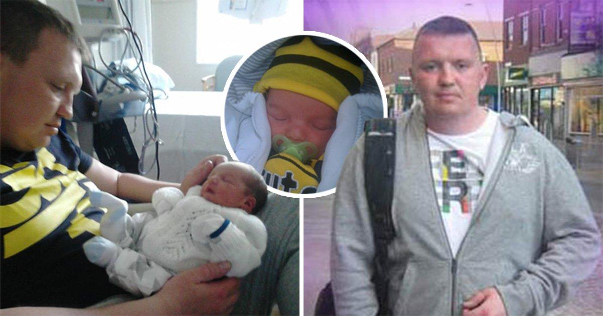 Dad killed himself after newborn son died from pneumonia