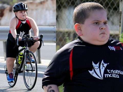Schoolboy who suffers from a rare condition is fighting for his life – by competing in triathlons