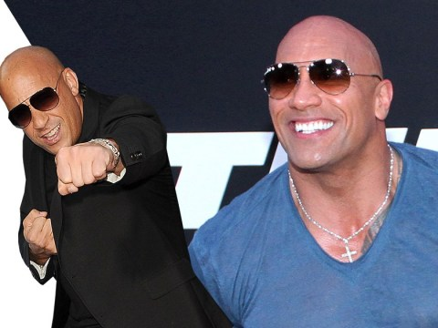 Vin Diesel challenges Dwayne Johnson to a fight: 'I would flex on The Rock!'