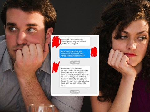 Woman gets angry at date after rejecting him because she couldn't handle him being ok with it