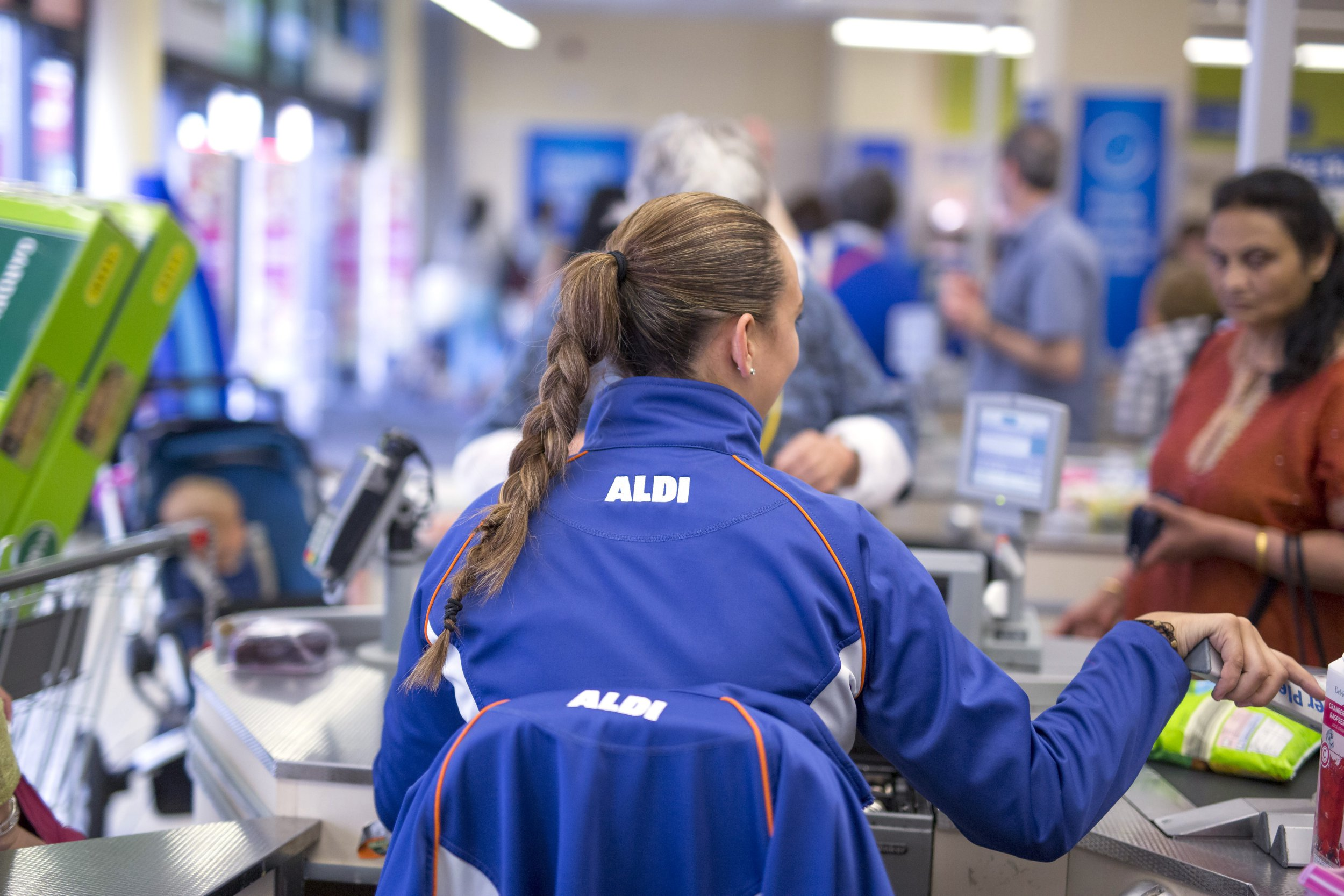 Aldi 'tells staff to scan 1,000 items in an hour or face the sack'