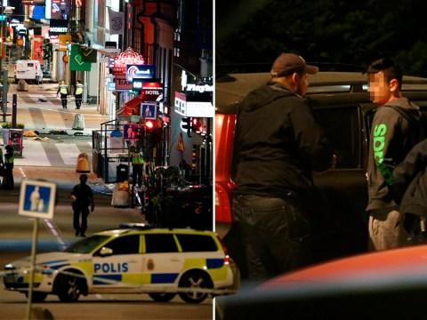 Two men arrested over Stockholm terror attack