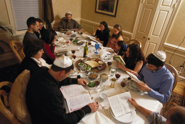 What happens at a Passover Seder and what's included in the