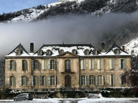 An 18th century French Château has been restored to its former splendour