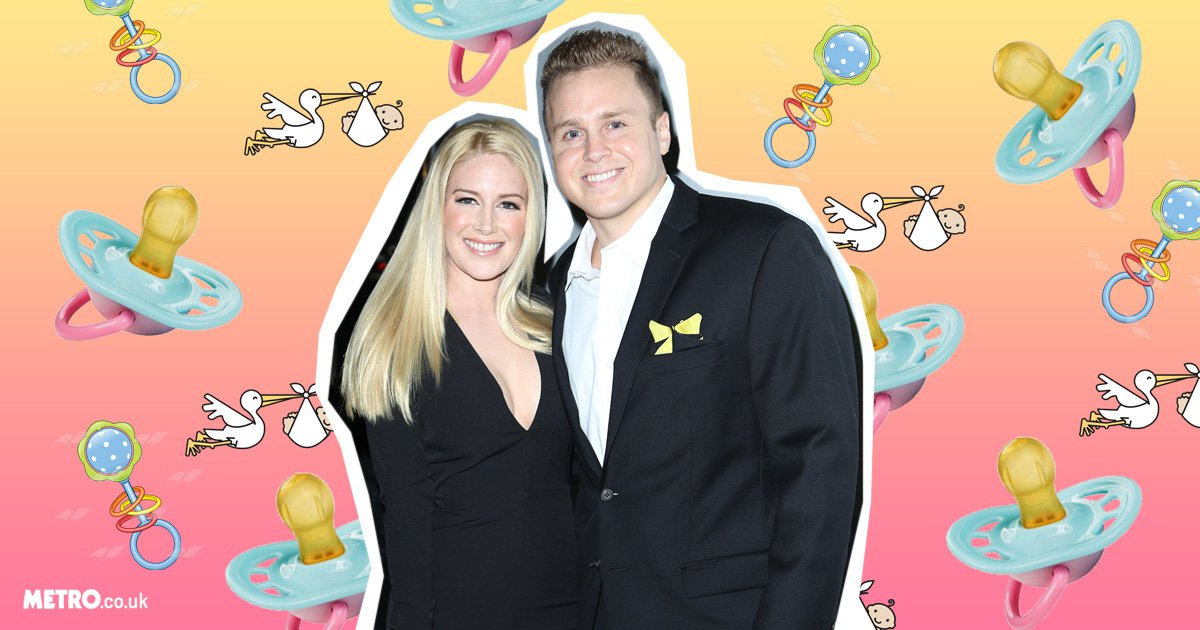 'Euphoric' Heidi Montag and Spencer Pratt reveal they are expecting their first child