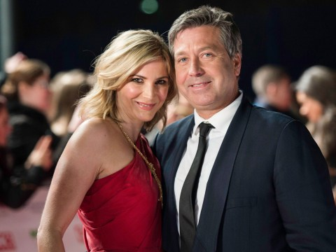 Lisa Faulkner says boyfriend John Torode is a massive EastEnders fan and helped her learn her lines