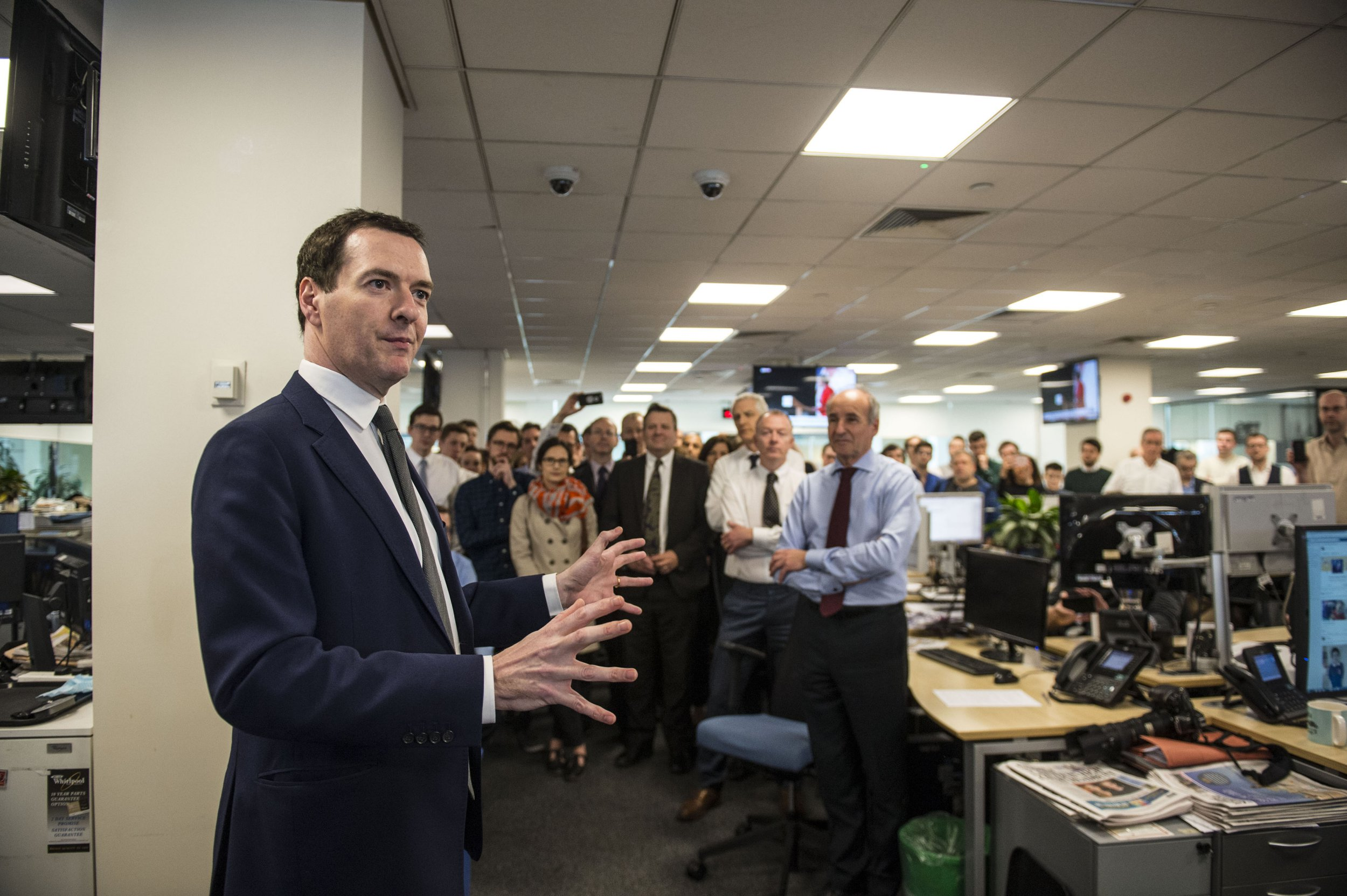 George Osborne quits as MP after becoming Evening Standard editor