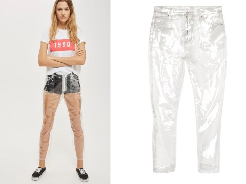 Topshop release completely see-through trousers and we're not sure how to feel about them