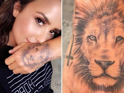 Demi Lovato denies 'copying Cara Delevingne' with bold new lion tattoo