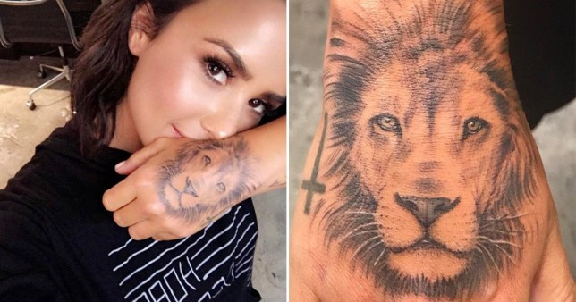 Demi Lovato Denies Copying Cara Delevingne With Bold New Lion
