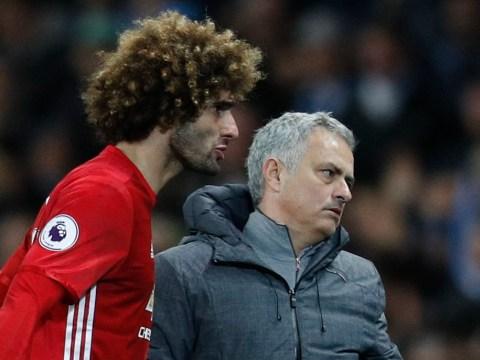 Jose Mourinho reveals Marouane Fellaini blamed his reputation in his red card for Sergio Aguero headbutt