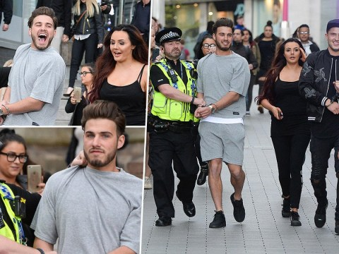 Ex On The Beach stars 'arrested' while shopping in Birmingham