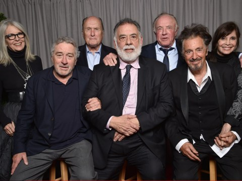 Cast and director of The Godfather reunite for the film's 45th anniversary