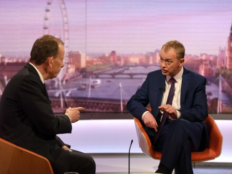 Tim Farron admits he's 'a bit of a Eurosceptic'