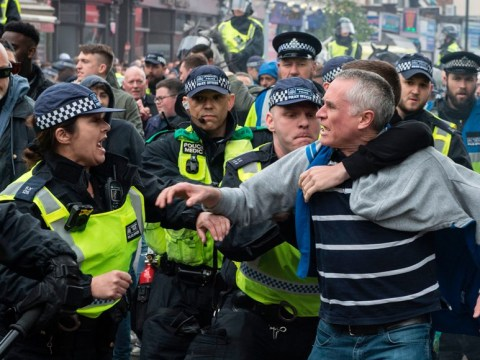 Violence breaks out ahead of Arsenal and Tottenham derby match