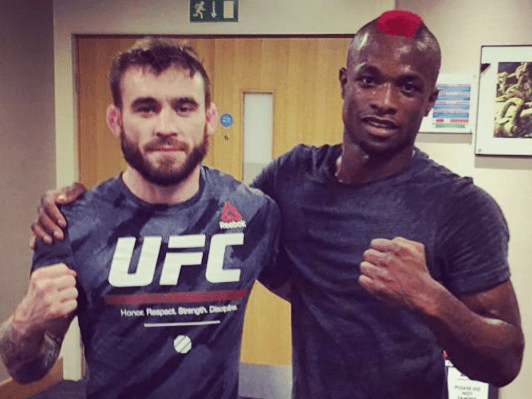 Marc Diakiese urges UFC to re-sign Robert Whiteford for Glasgow fight night