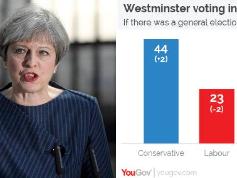Latest polls show Theresa May would steam ahead of Jeremy Corbyn