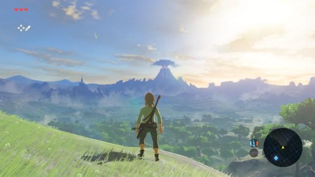The Legend Of Zelda: Breath Of The Wild - surprisingly baby compatible