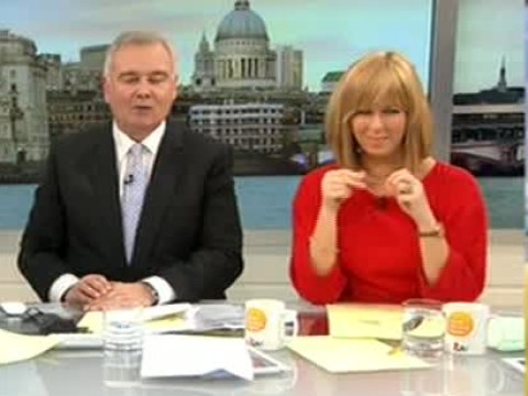 Lorraine reminds Eamonn Holmes why they look so good on television: 'We've got fat little faces'