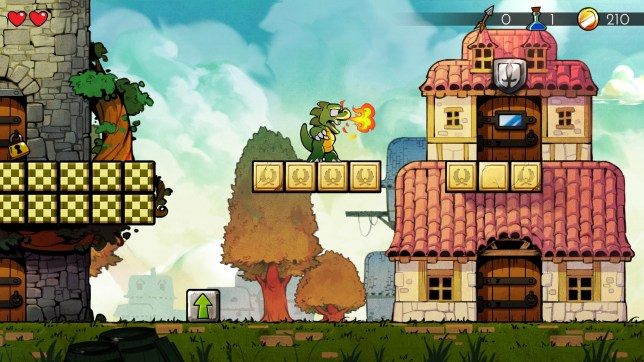 Wonder Boy: The Dragon's Trap (PS4) - a masterful remake