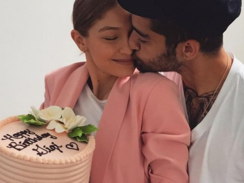 Gigi Hadid celebrates her 22nd birthday with Zayn Malik as sister Bella and mum Yolande share cute throwback photos