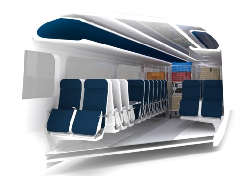 Sliding train seats could be the answer to UK's packed rail system