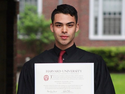 Man shares his inspiring journey from flipping burgers to graduating from Harvard