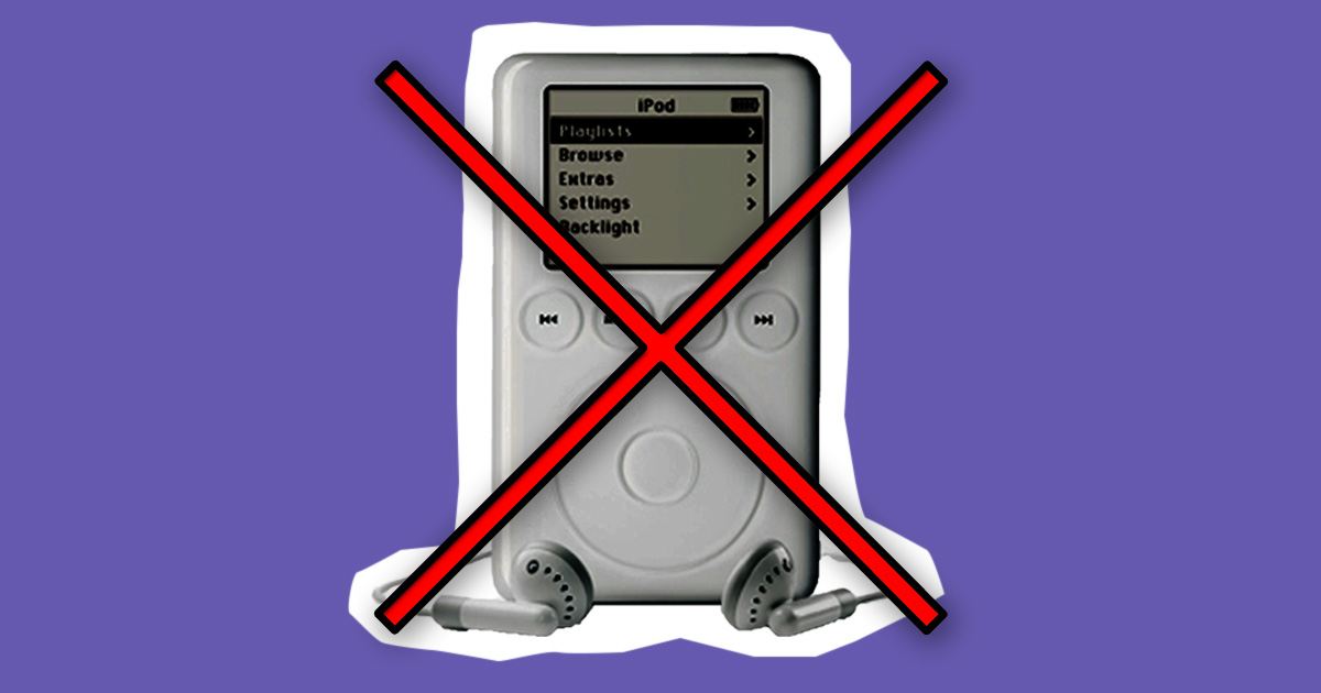 The MP3 has finally been 'killed off'